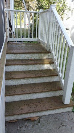 Let BK Handyman Service Power Wash Your Deck To Make It Safer And More Enjoyable For Family We Can Turn The Weathered Gray Mold Covered Wood Into A
